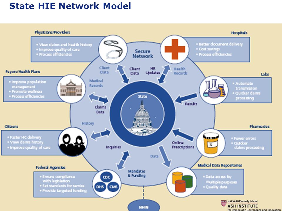State HIE Network Model