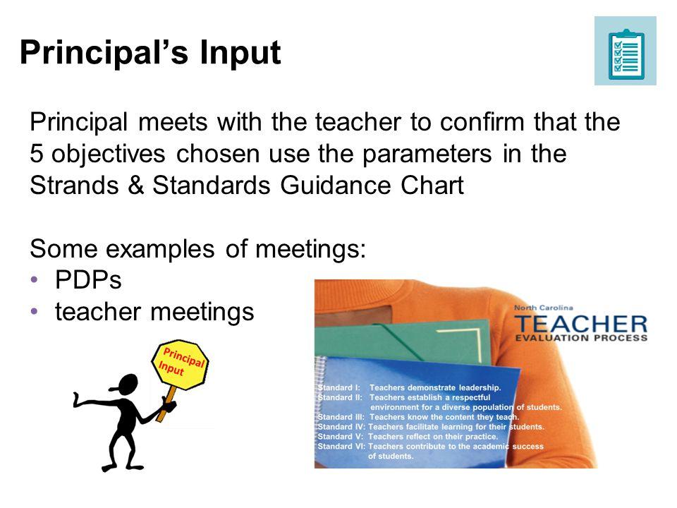 Principal's Input