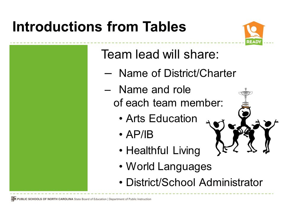Introductions from Tables