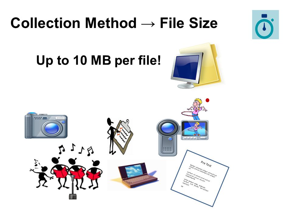 Collection Method → File Size