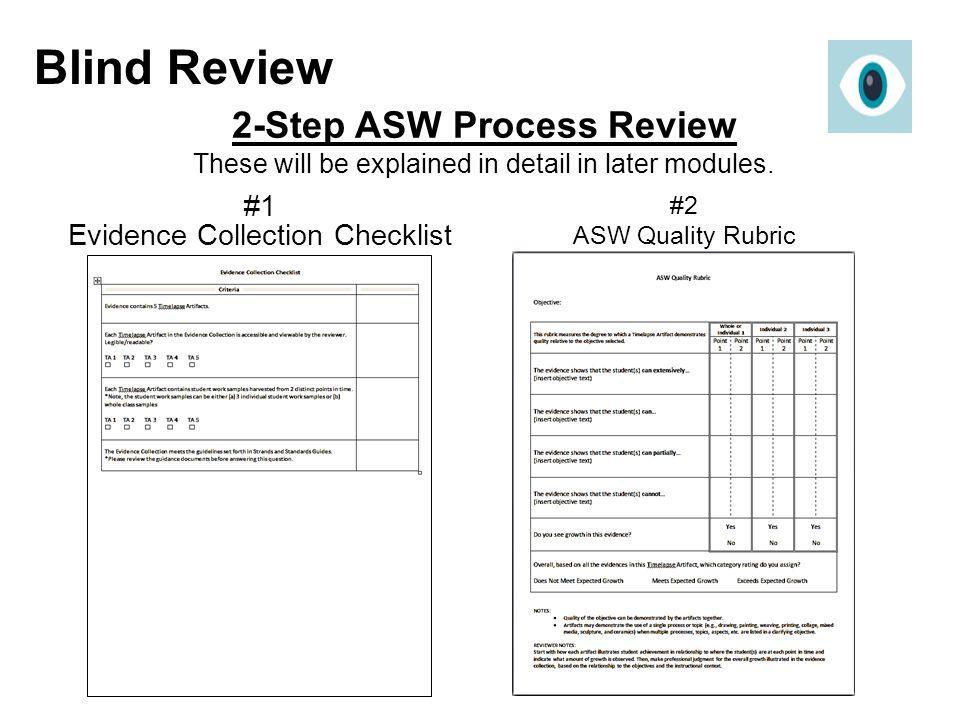 #1 Evidence Collection Checklist