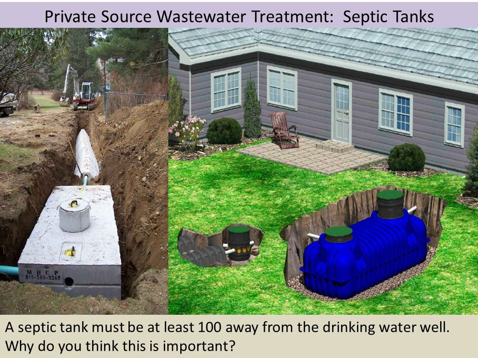 Private Source Wastewater Treatment: Septic Tanks