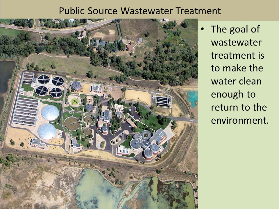 Public Source Wastewater Treatment
