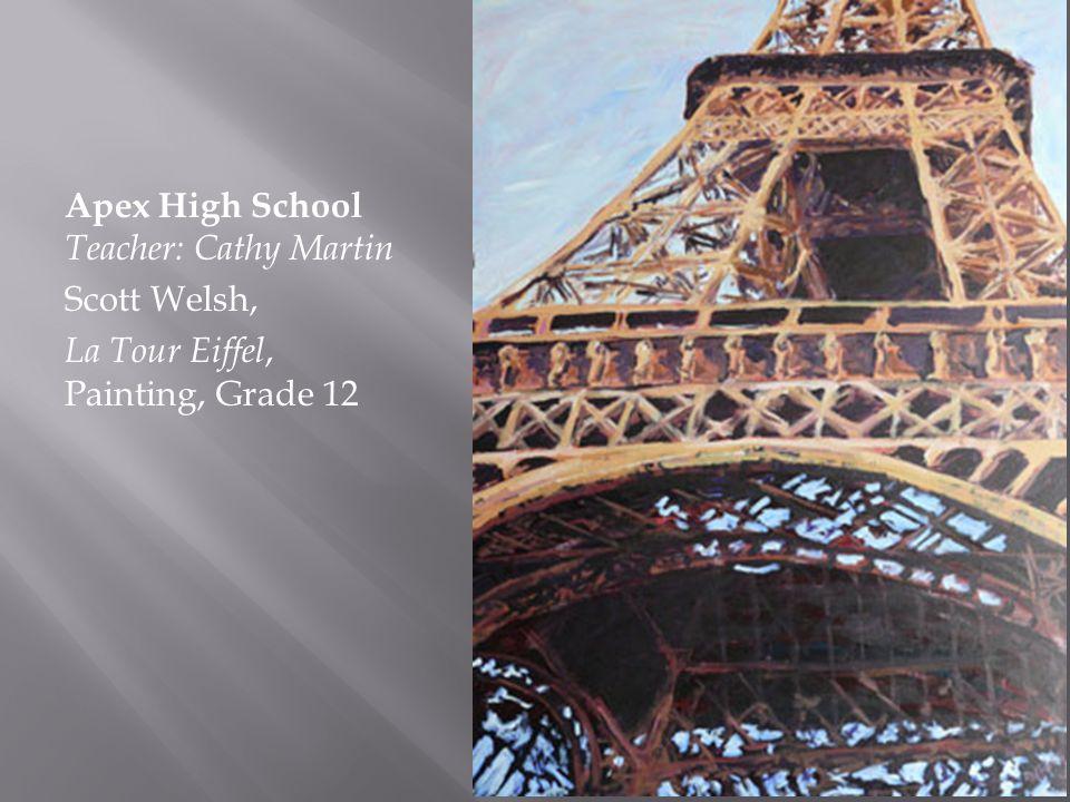 Apex High School Teacher: Cathy Martin