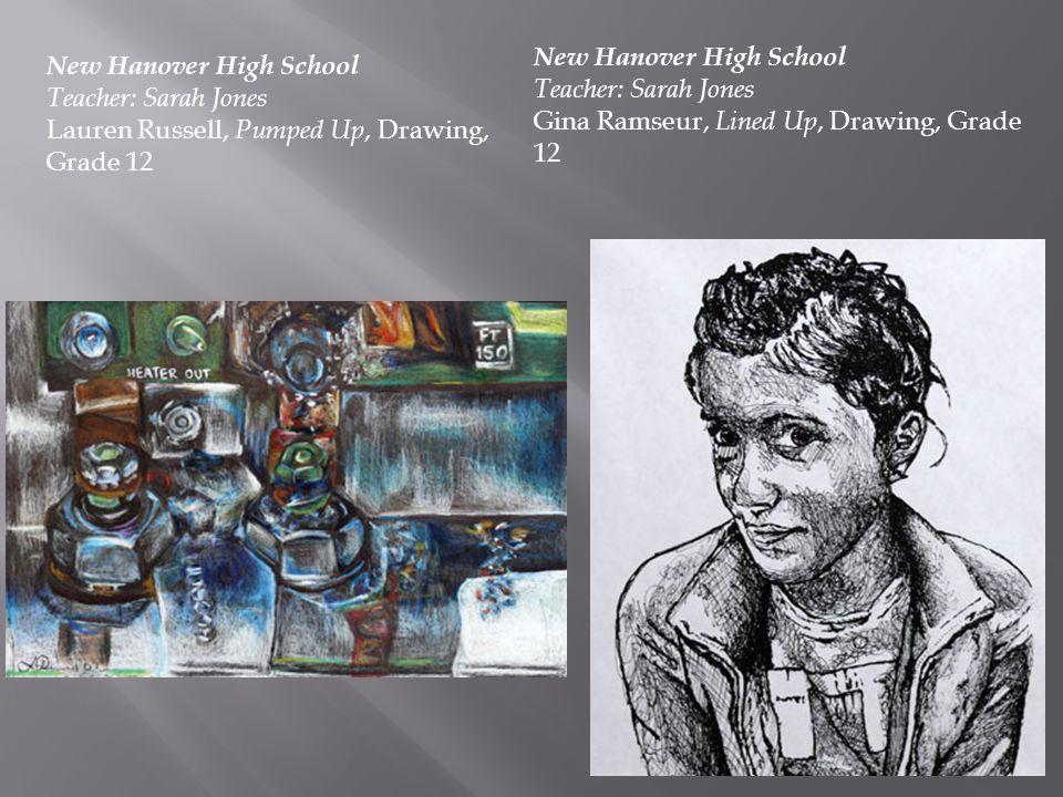New Hanover High School Teacher: Sarah Jones