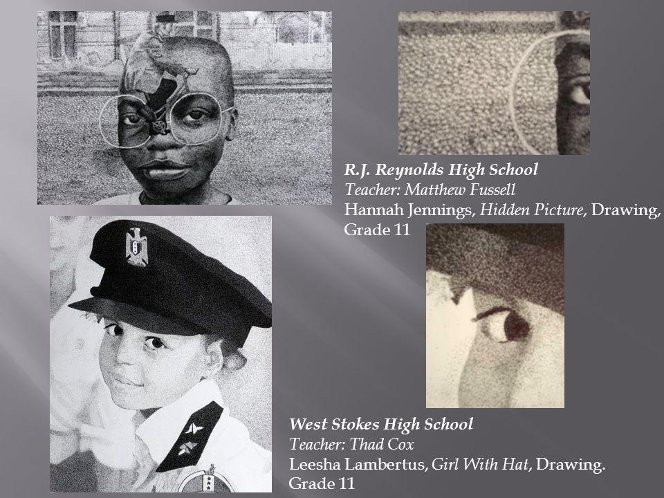 R.J. Reynolds High School Teacher: Matthew Fussell