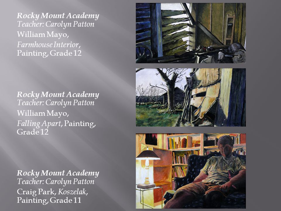 Rocky Mount Academy Teacher: Carolyn Patton
