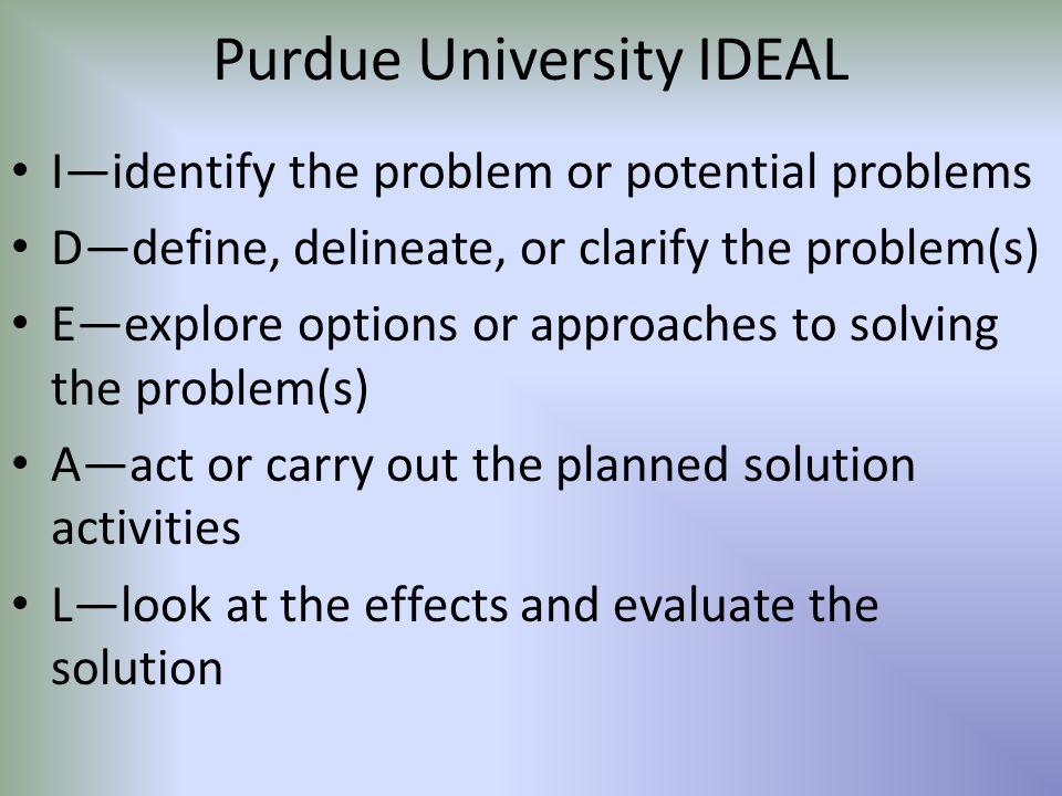 Purdue University IDEAL