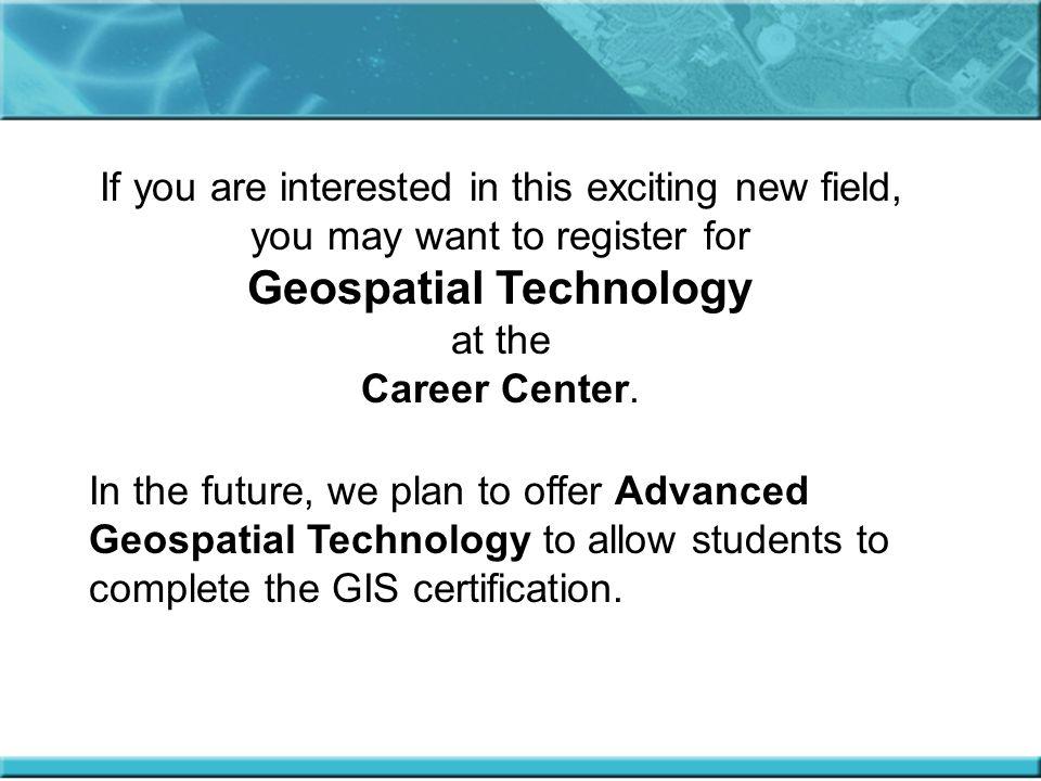Geospatial Technology