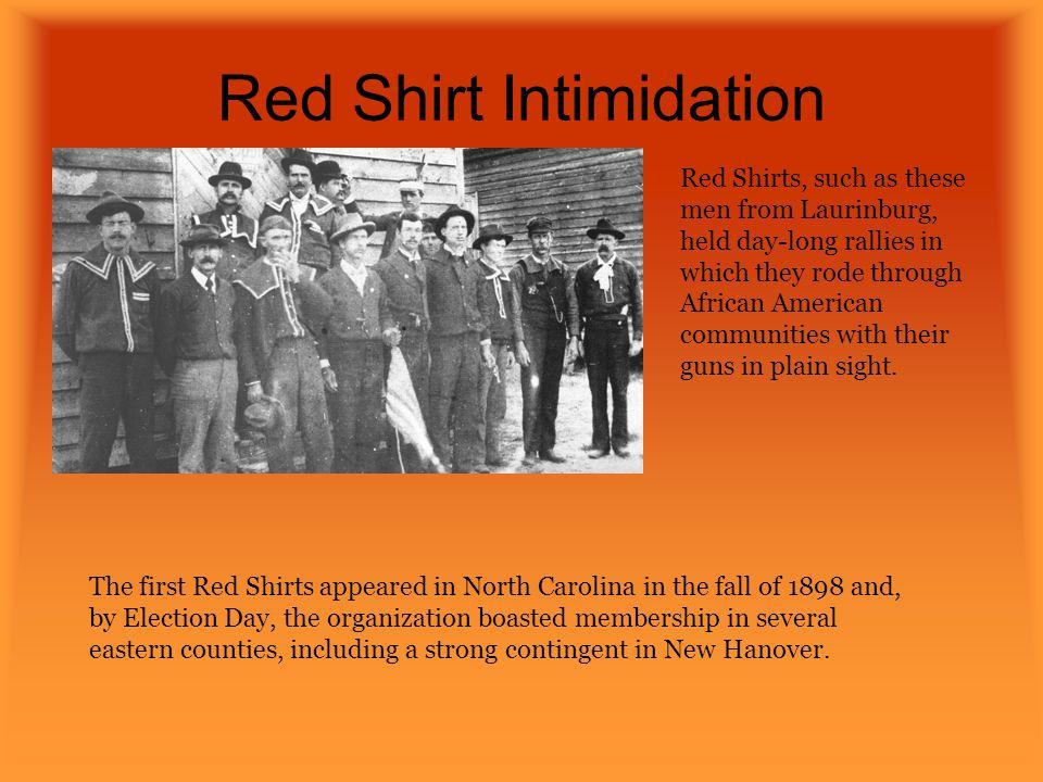 Red Shirt Intimidation