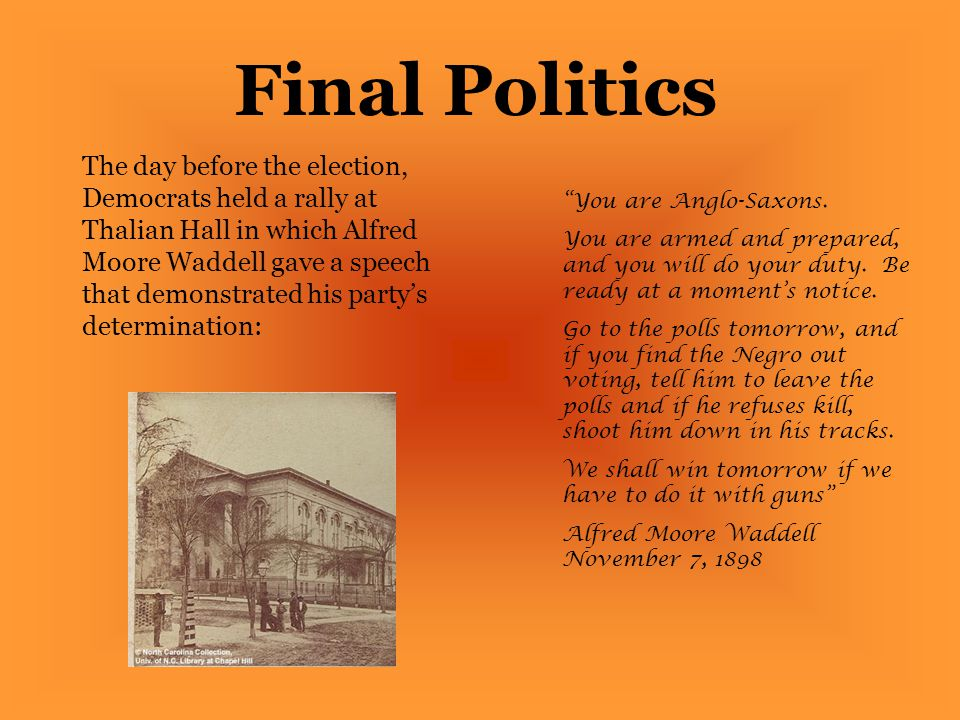 Final Politics