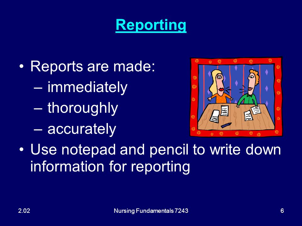 Use notepad and pencil to write down information for reporting