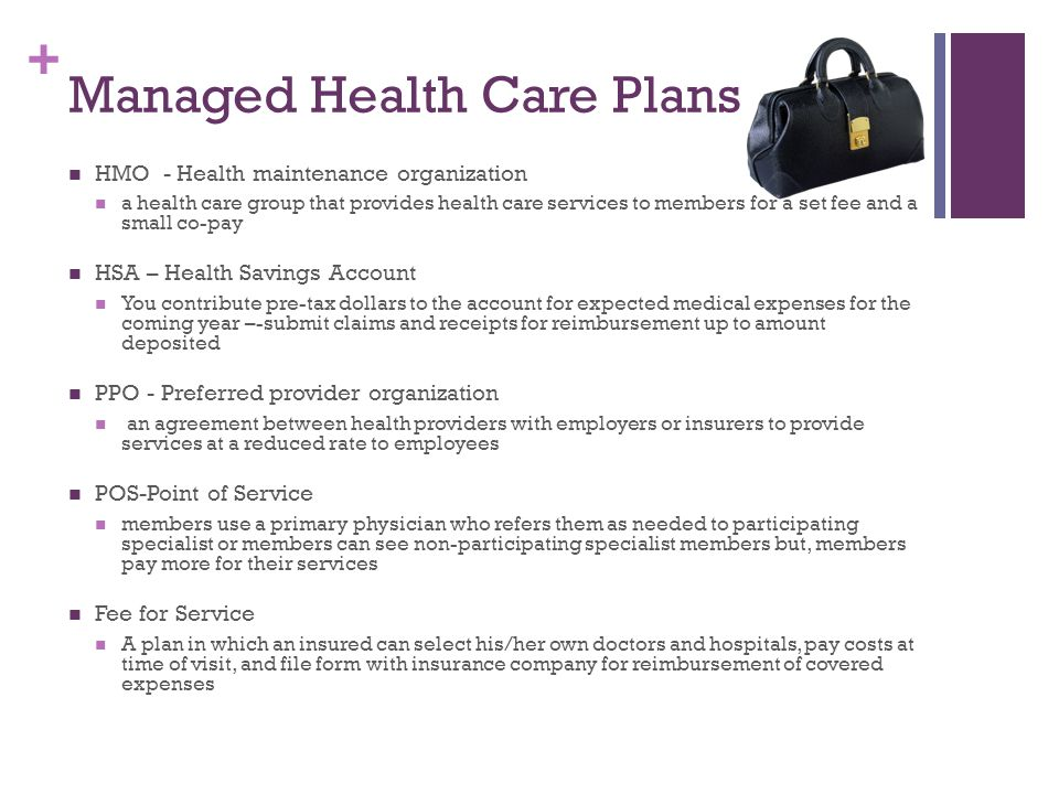 Managed Health Care Plans
