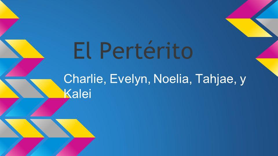 Charlie, Evelyn, Noelia, Tahjae, y Kalei