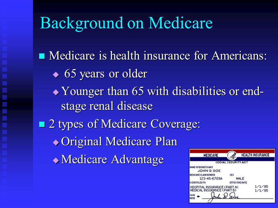 Background on Medicare