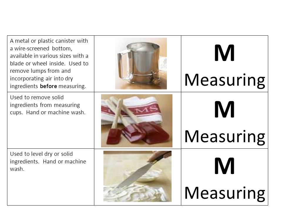 M M M Measuring Measuring Measuring