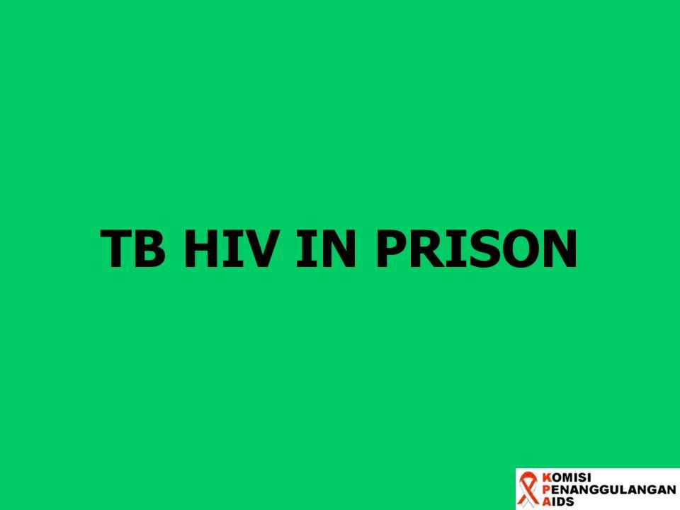 TB HIV IN PRISON