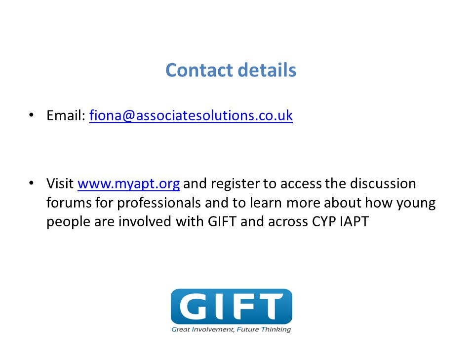 Contact details Email: fiona@associatesolutions.co.uk.