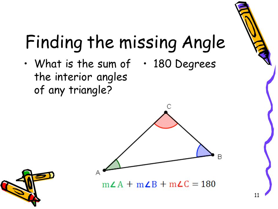 Finding the missing Angle