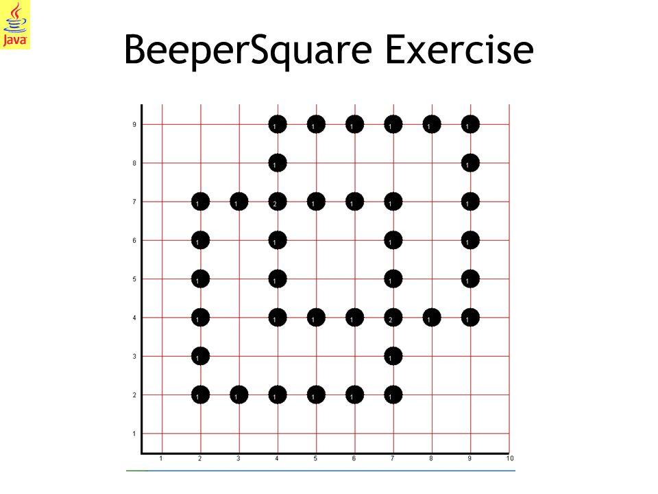BeeperSquare Exercise