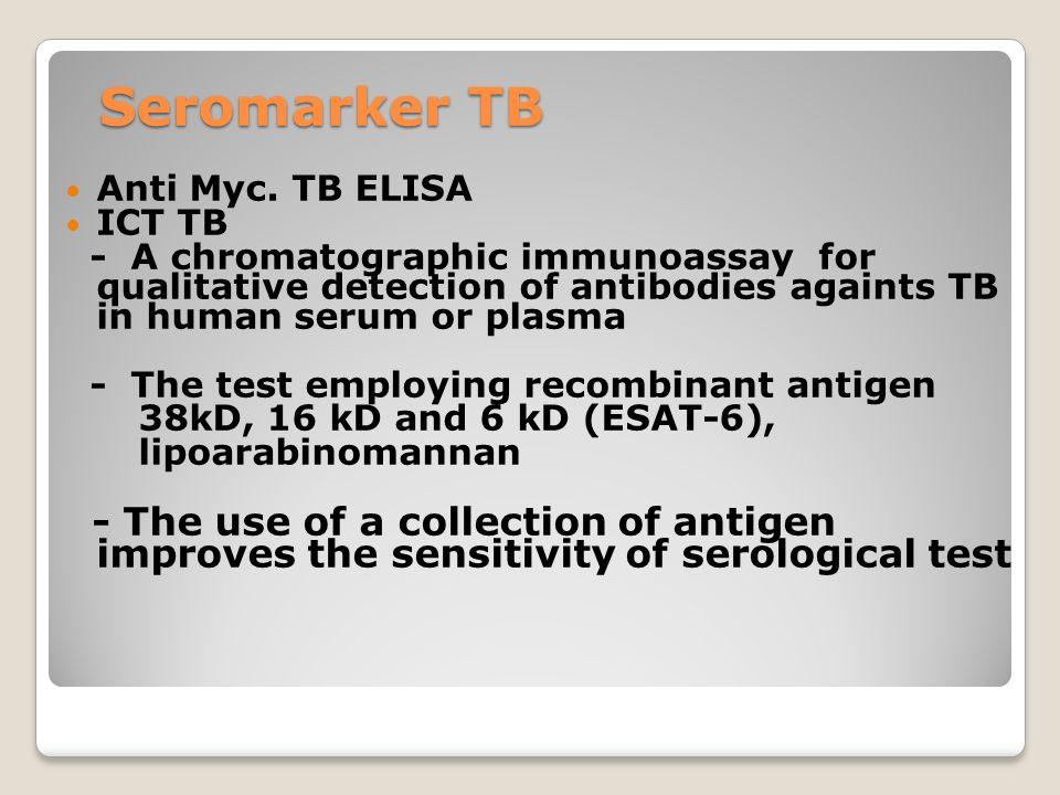 Seromarker TB Anti Myc. TB ELISA. ICT TB.