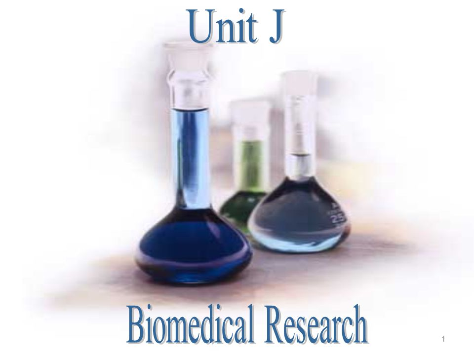 Unit J Biomedical Research