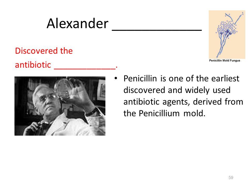 Alexander ____________