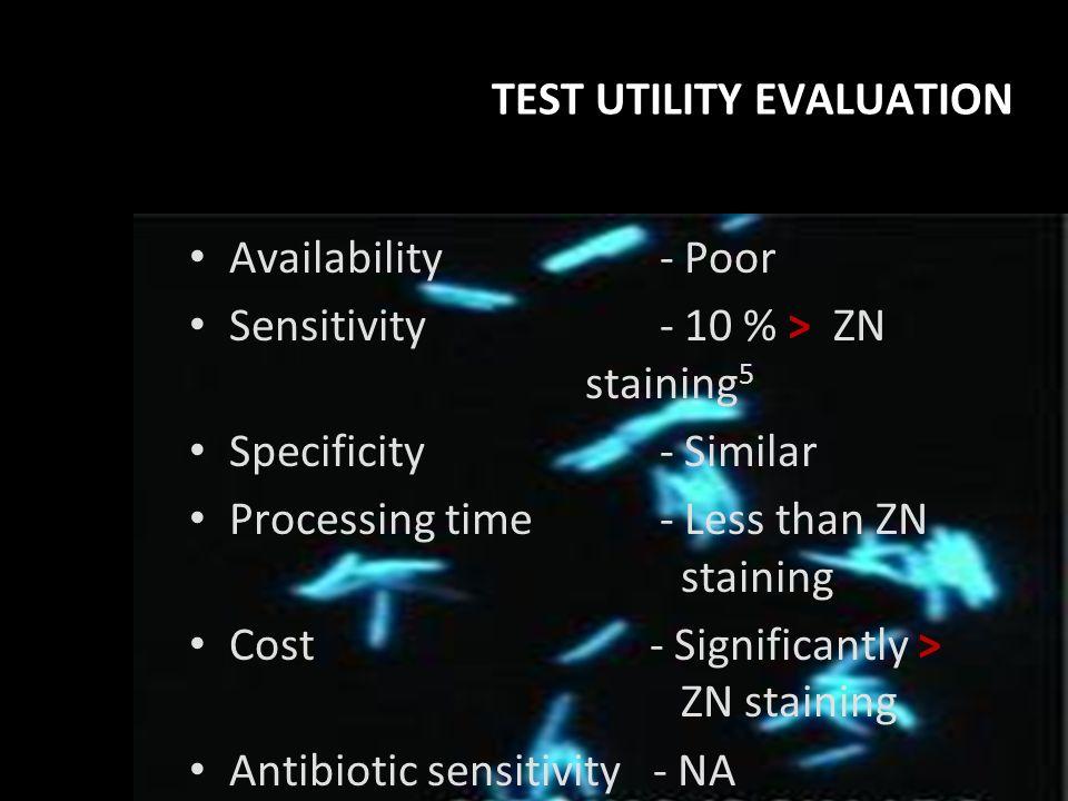 TEST UTILITY EVALUATION