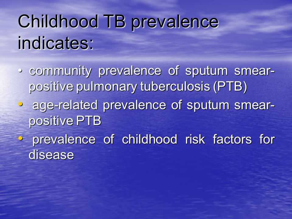 Childhood TB prevalence indicates: