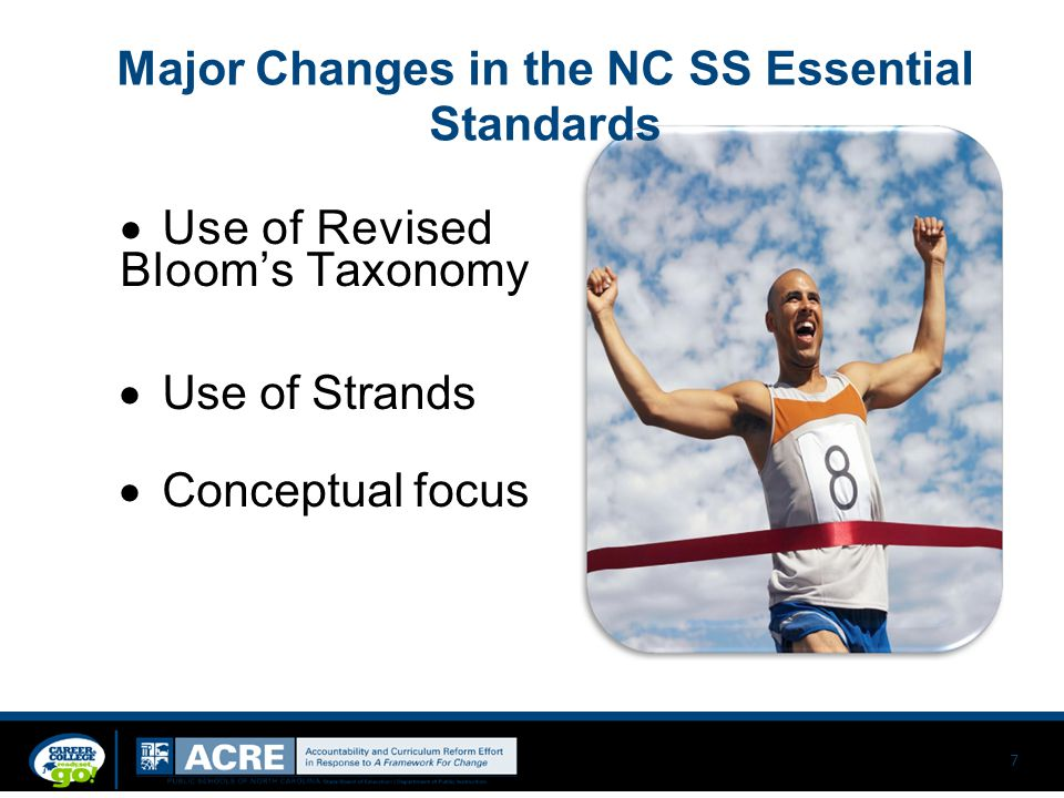 Major Changes in the NC SS Essential Standards