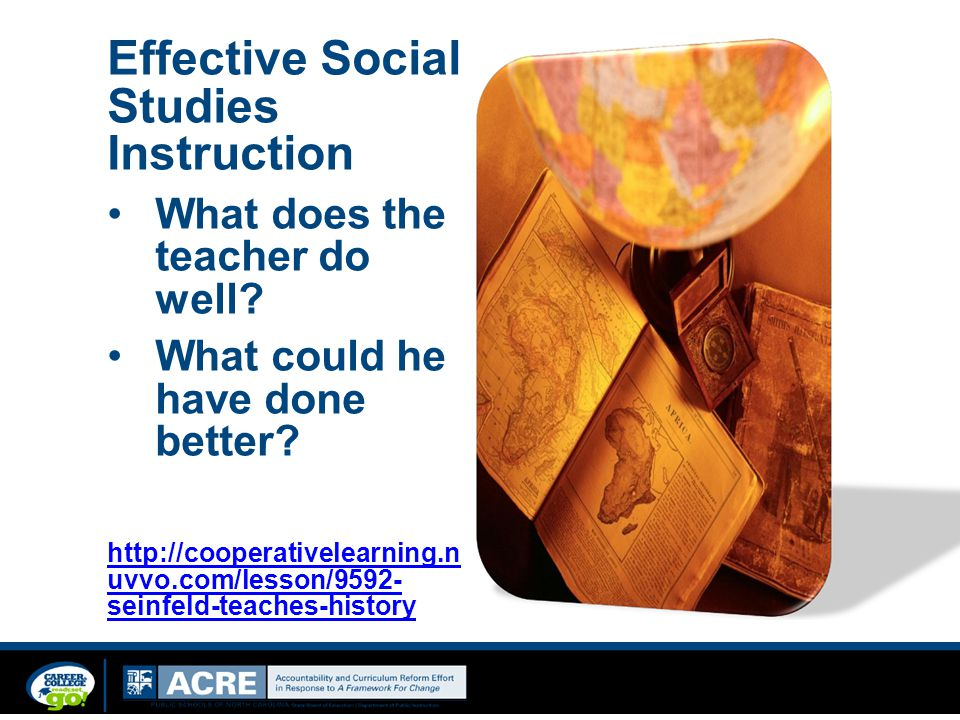 Effective Social Studies Instruction