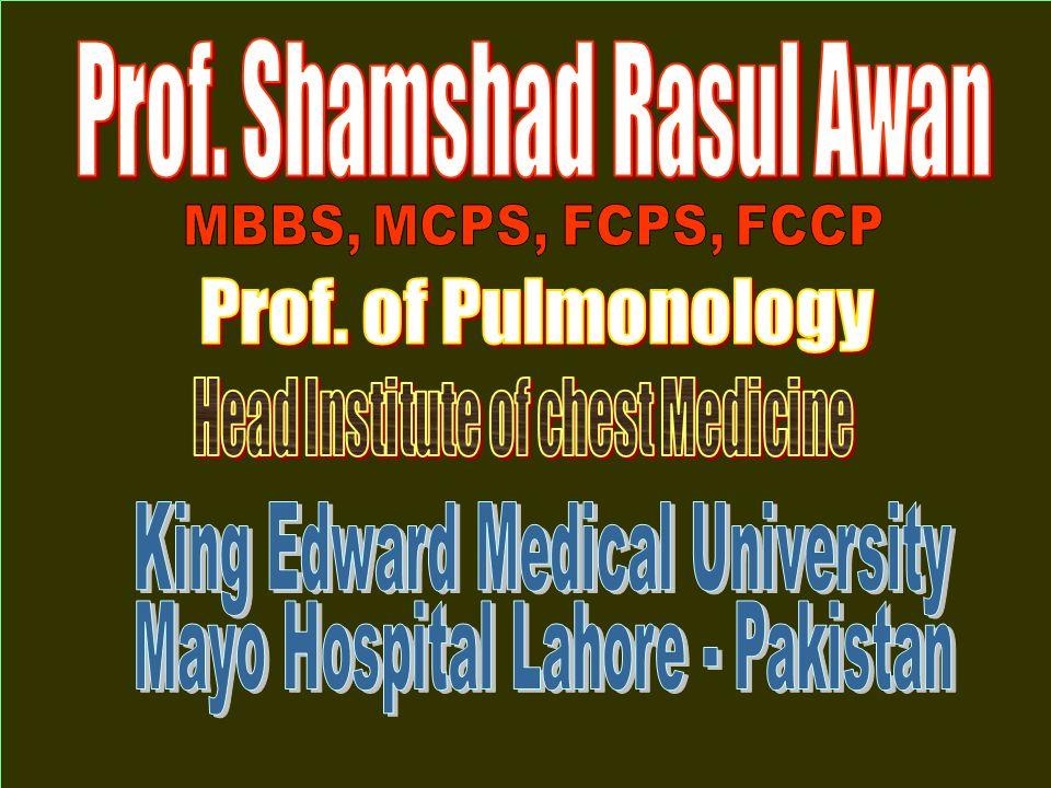 Prof. Shamshad Rasul Awan