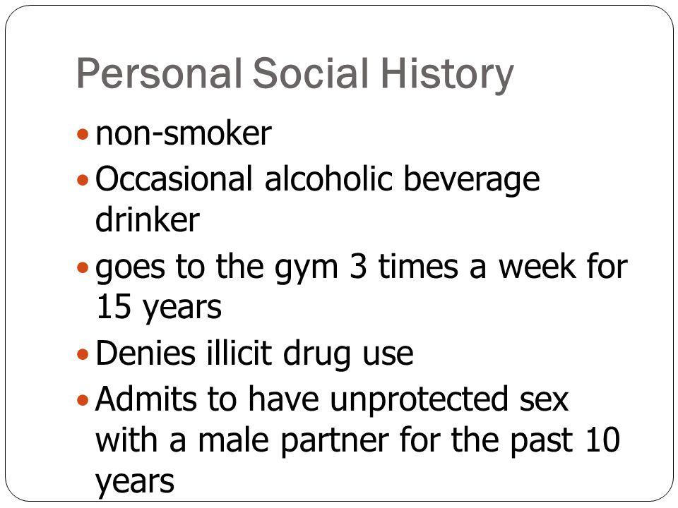Personal Social History