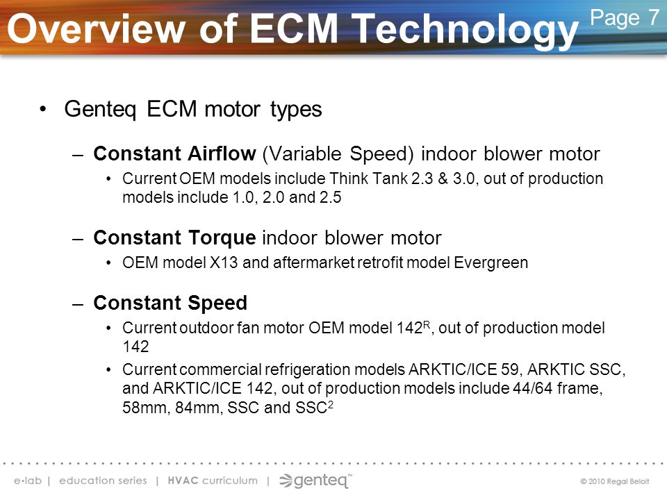 Overview of ECM Technology