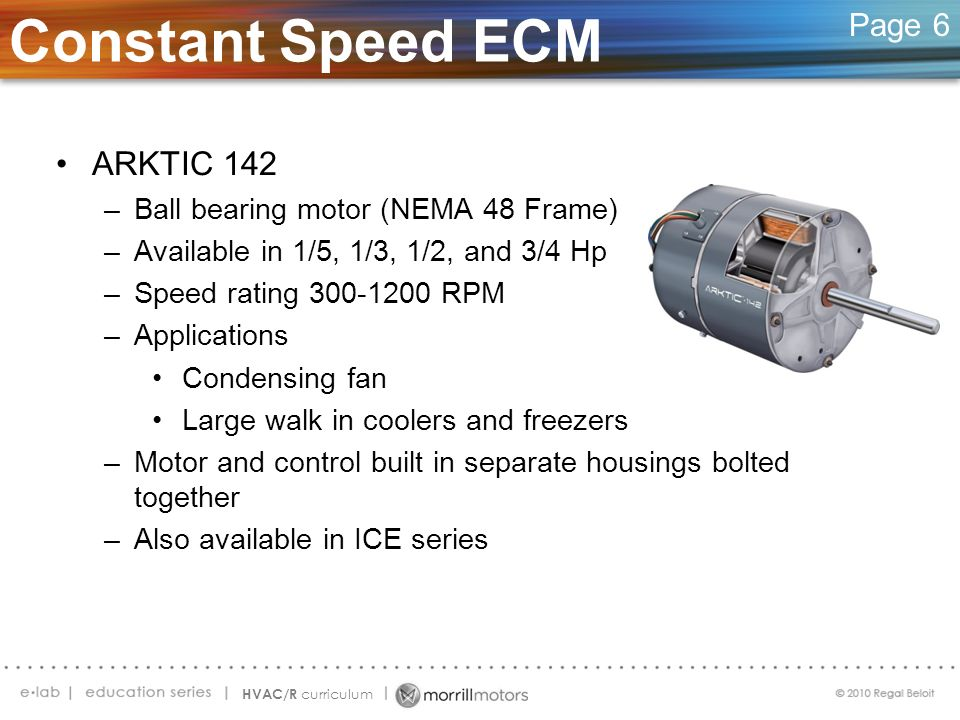 Constant Speed ECM ARKTIC 142 Page 6