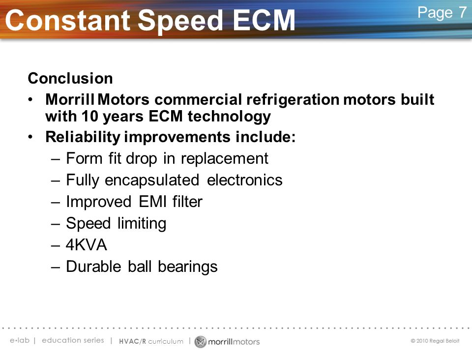 Constant Speed ECM Form fit drop in replacement