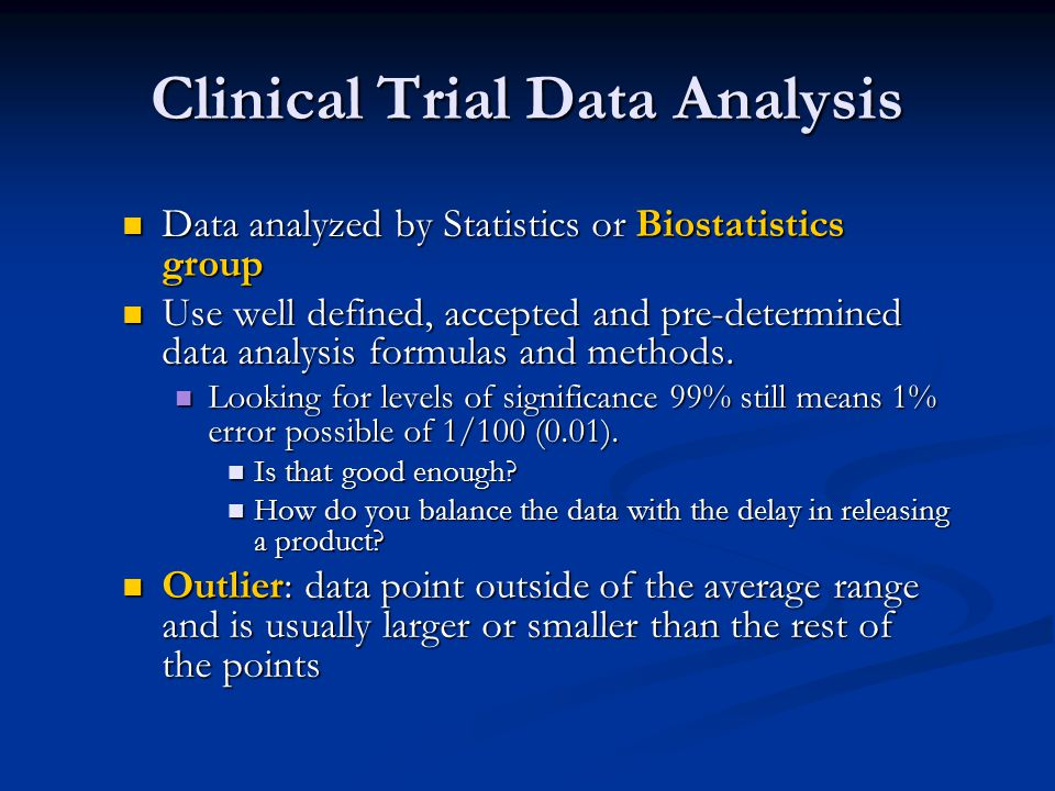 Clinical Trial Data Analysis