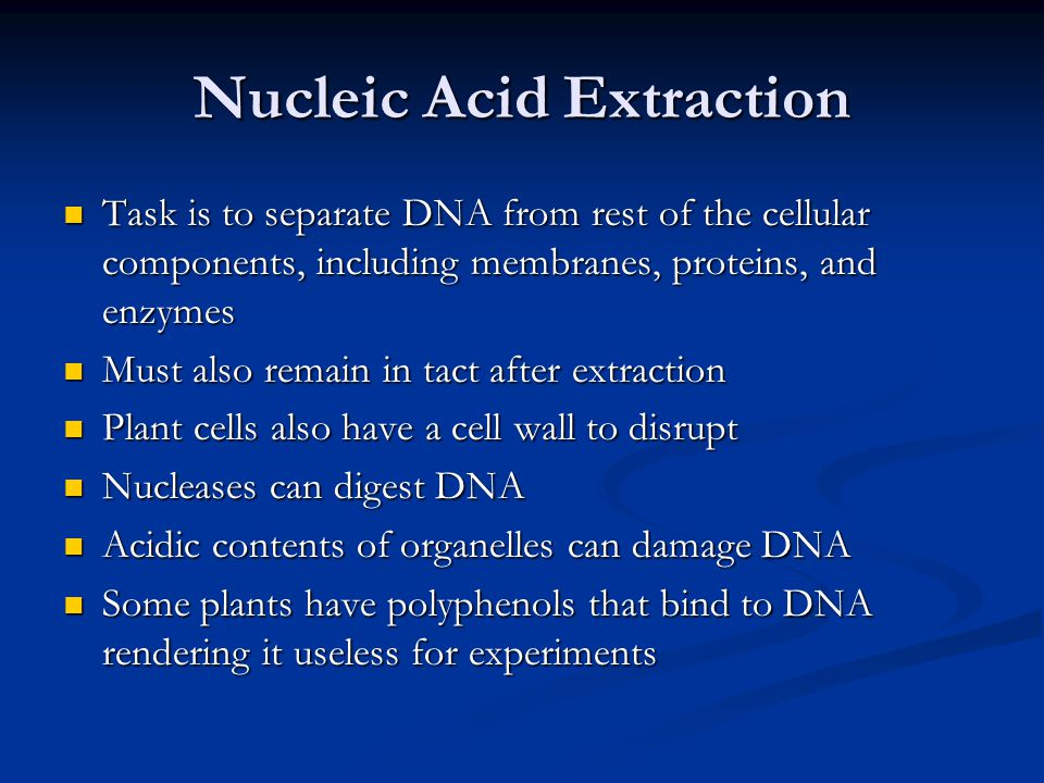 Nucleic Acid Extraction