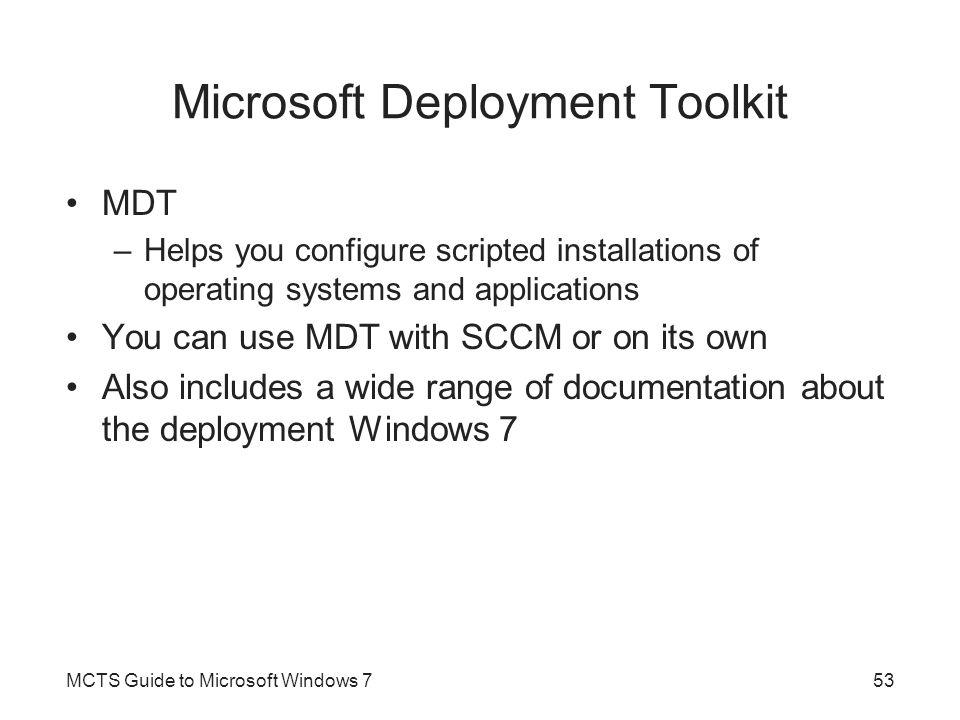 Microsoft Deployment Toolkit