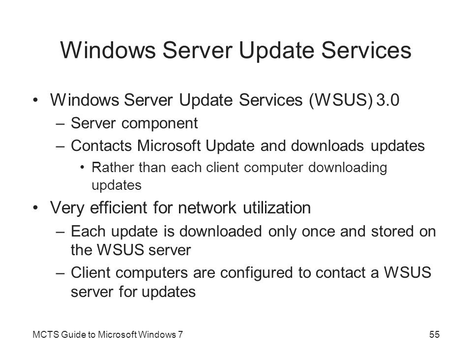 Windows Server Update Services