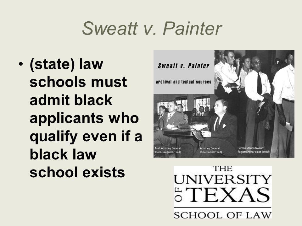 Sweatt v.