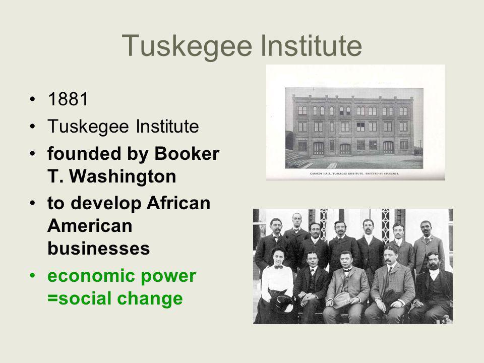 Tuskegee Institute 1881 Tuskegee Institute