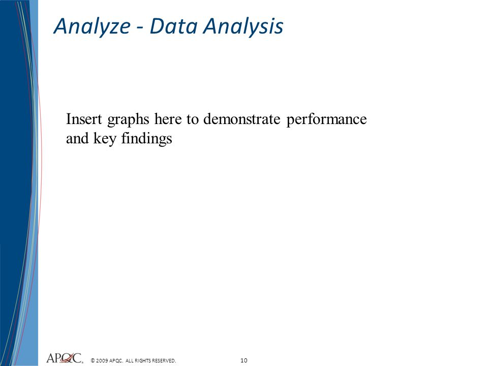Analyze - Data Analysis