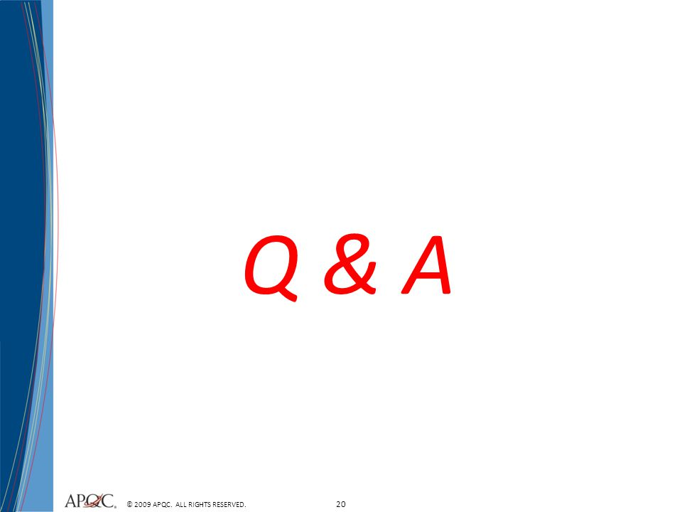 Q & A Add comments or information that is related to: