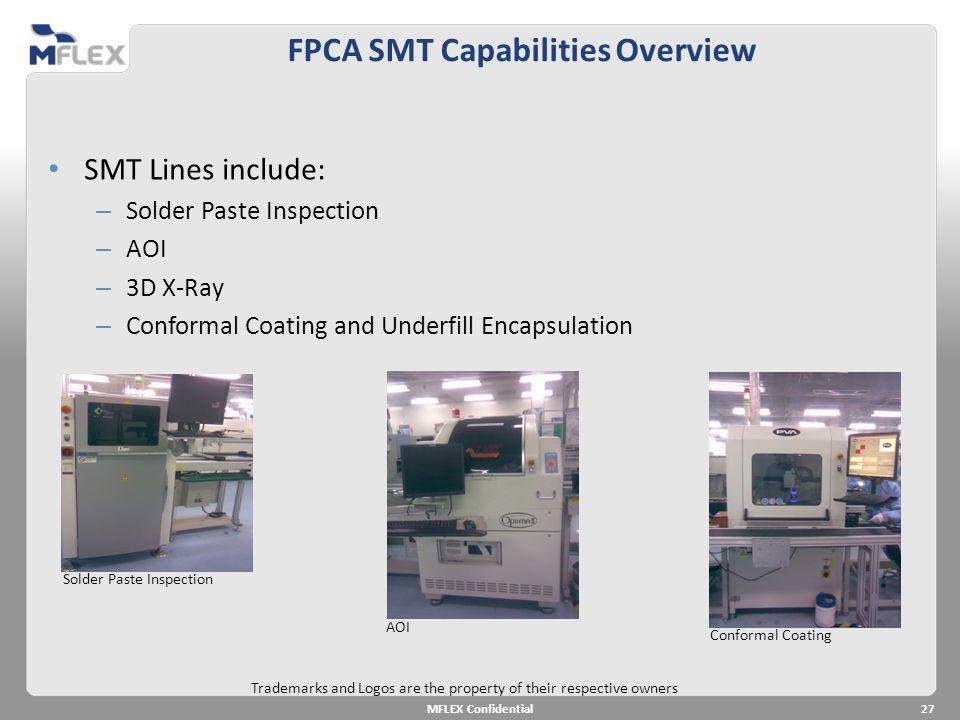 FPCA SMT Capabilities Overview