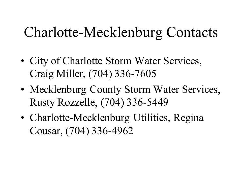 Charlotte-Mecklenburg Contacts