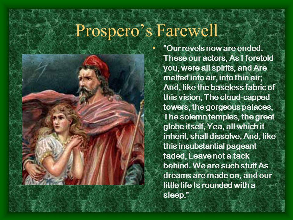 Prospero's Farewell