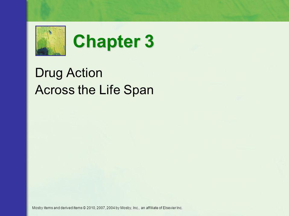 Drug Action Across the Life Span