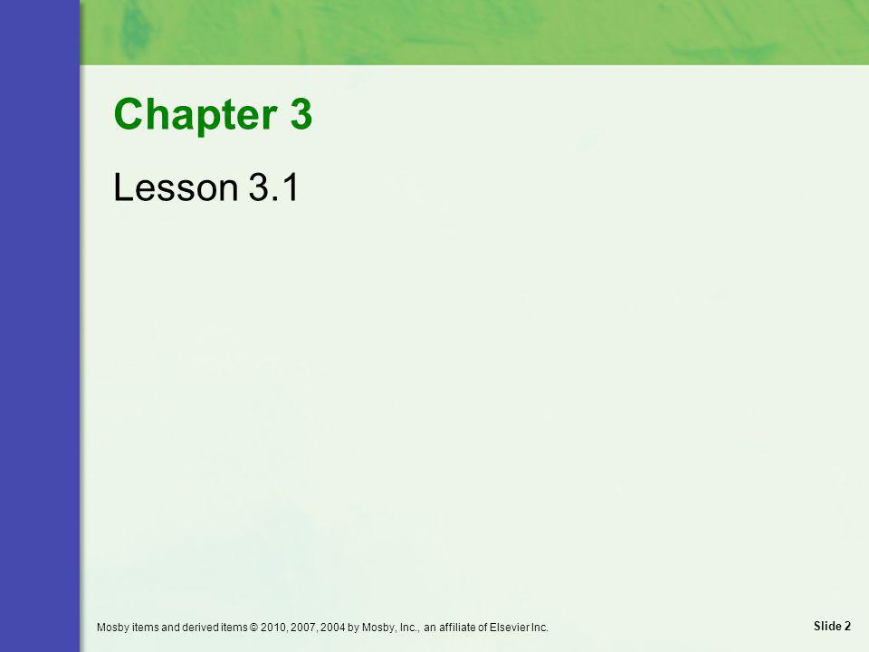 Chapter 3 Lesson 3.1.