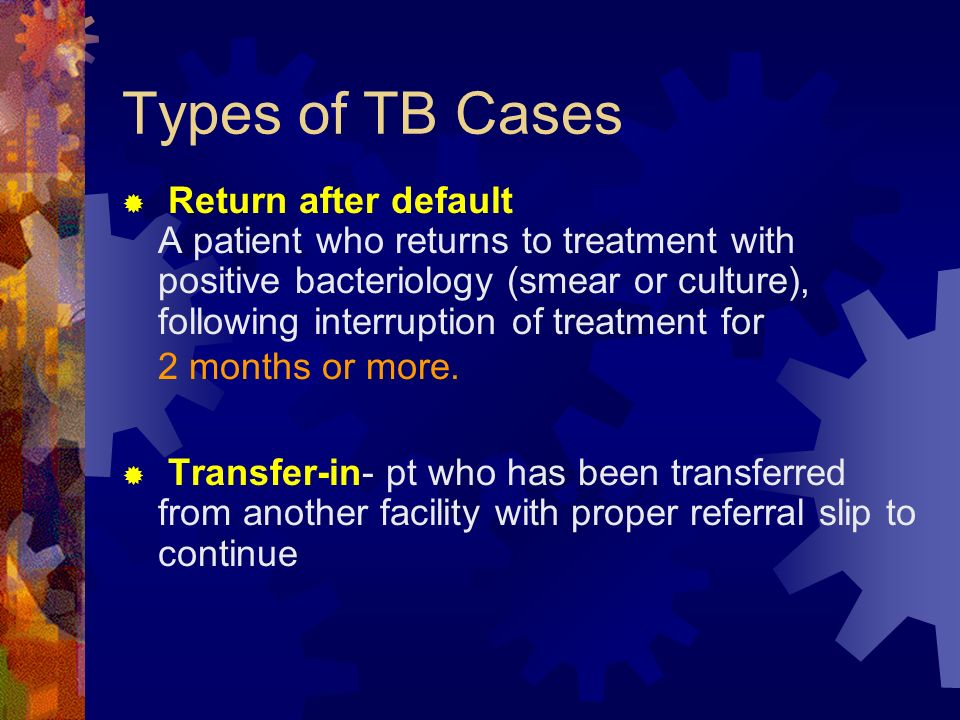 Types of TB Cases